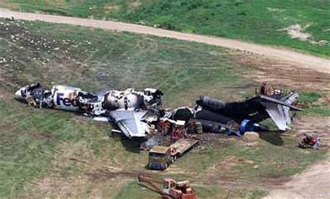 accident of a boeing 727 freighter operated by federal