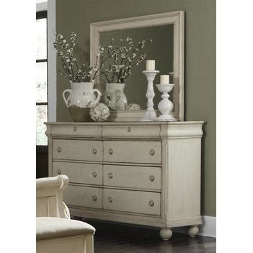 rustic white dresser with mirror liberty furniture rustic traditions dresser mirror in