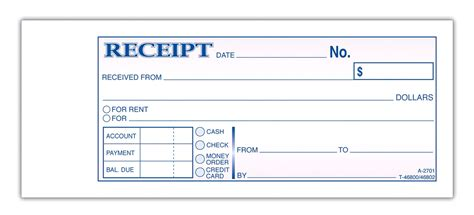 rent receipt template for excel