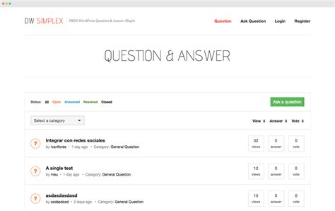 dw question amp answer wordpress plugin 171 guide 171 designwall