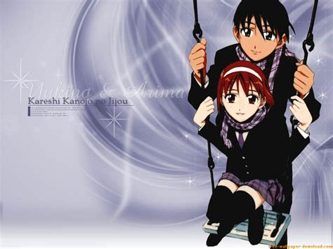 his and circumstances anime wallpaper gallery kare kano wallpapers