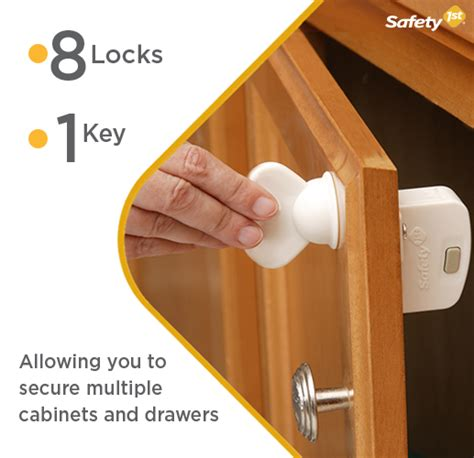 How To Add A Lock To A Drawer by Safety 1st Magnetic Locking System 1 Key And