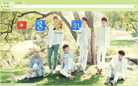 google chrome themes kpop exo exo chrome web store