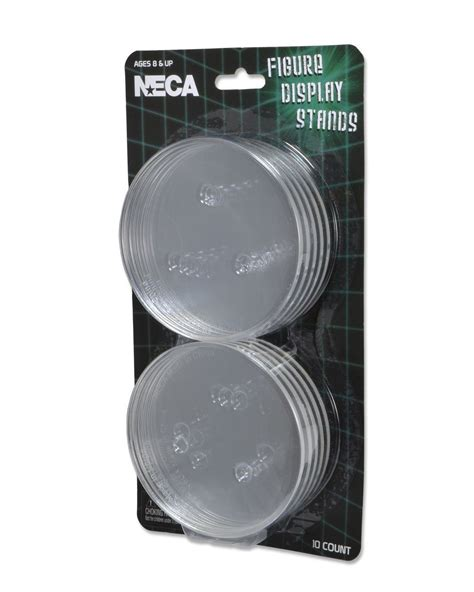 8 figure display neca figure display stands set of 10 for 6 8 inch
