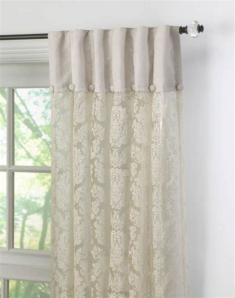 top of curtain called 25 best ideas about lace curtains on pinterest diy