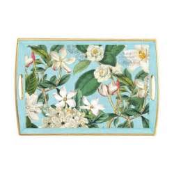 Michel Design Works Decoupage Tray - michel design works gardenia decoupage tray decoupaged