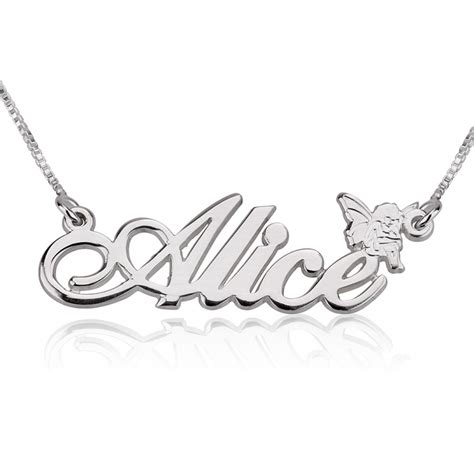 O Necklace classic name necklace with symbol