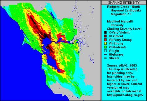 san jose seismic hazard map seismic hazard