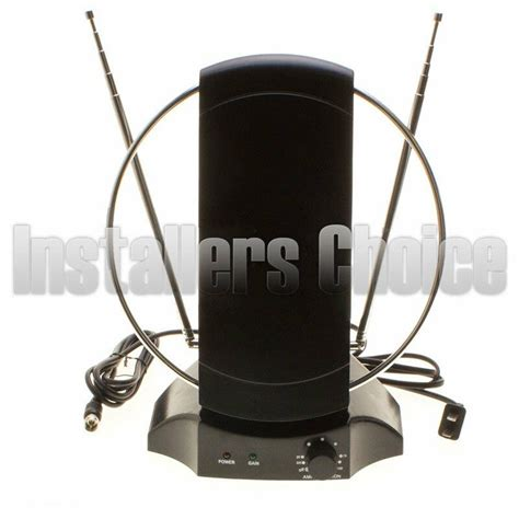 indoor digital tv antenna  mile hdtv uhf vhf db