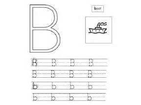 letter b tracing worksheets free alphabet b tracing