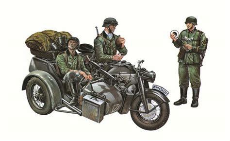 Motorrad Gespann Modell by Motorrad Gespann Z 252 Ndapp Ks750 183 Italeri 183 0317 183 1 35