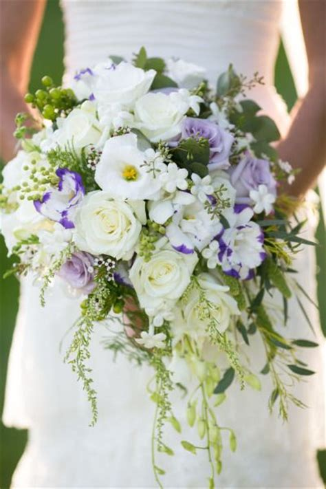 Flowers 101 Stephanotis by Wedding Bouquet Styles 101 Cascading Bouquets The