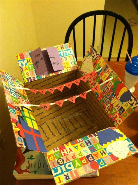 best box ideas birthday care package for my boyfriend kathryn