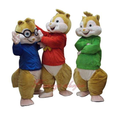 hitman absolution new year chipmunk costume 2017 sale new alvin and the chipmunks mascot costume