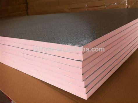 phenolic floor insulation two sides aluminum foil phenolic foam insulation board lq