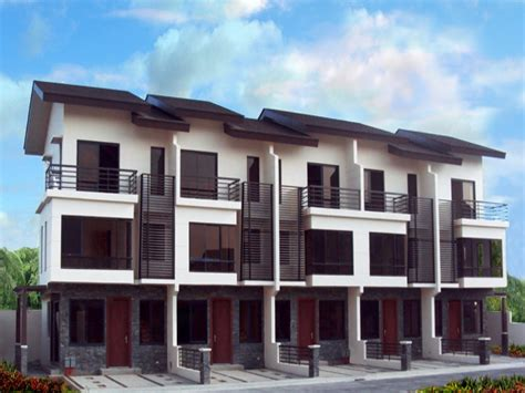 Modern Townhouse Plans Modern Townhouse Design Philippines Townhouse Design And