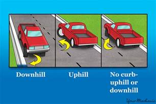 20 Wheels Truck Parking How To Safely Park On A Hill Yourmechanic Advice