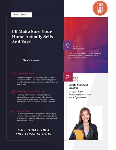 las vegas area real estate flyers and brochures