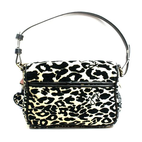 juicy couture black multi leopard small shoulder bag yhrus juicy couture yhrus