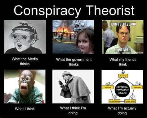Conspiracy Theorist Meme - critically conspiracy critical thinker pinterest