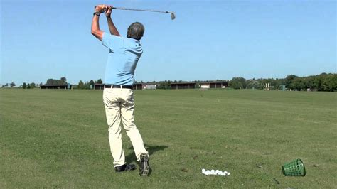 golf single plane swing single plane golf swing demo similar to moe norman