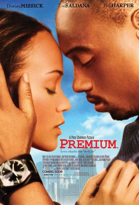 Premium Dvd Starring Zoe Saldana Hill In Stores Now by Premium 2006 Allocin 233