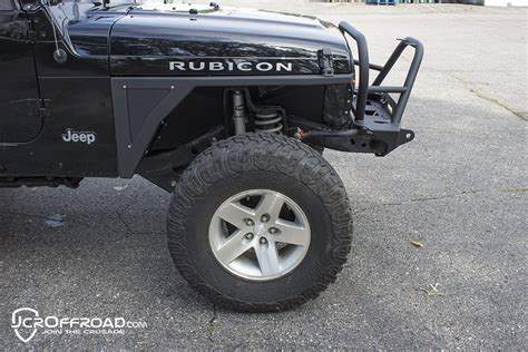 jeep tj fender jcr offroad mauler narrow front fender for 97 06 jeep