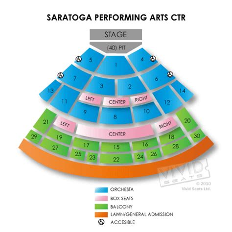 spac seating chart with numbers saratoga performing arts center tickets saratoga