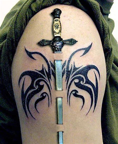 tattoo bad impression 25 best ideas about sword tattoo on pinterest tolkien