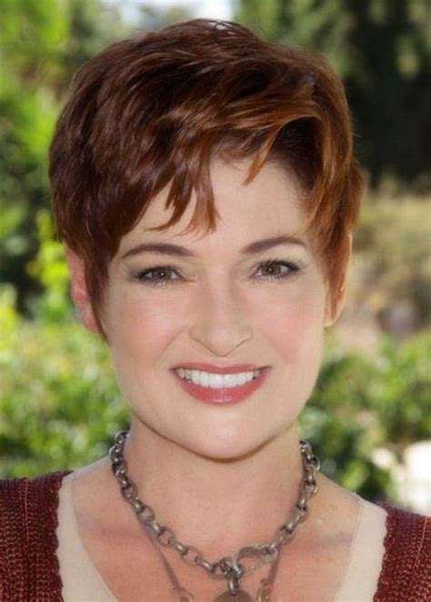 short trendy hair cut for a 50 year old trendy hairstyles for women over 50 fave hairstyles