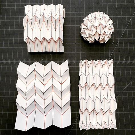 Architectural Paper Folding - 17 best ideas about folding architecture on