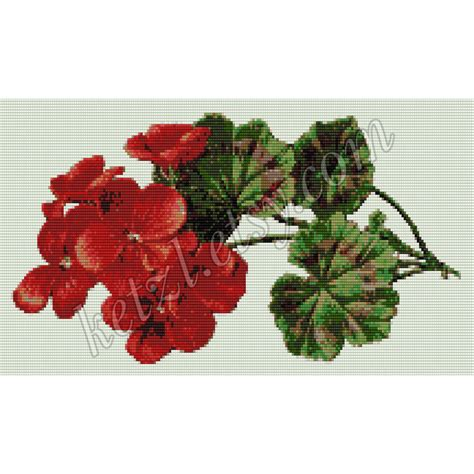 beaded tapestry patterns loom beading tapestry pattern geranium flowers with word