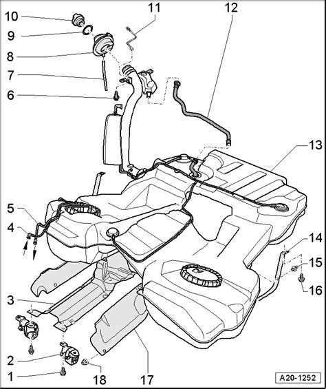 audi fuel tank diagram wiring diagram schemes