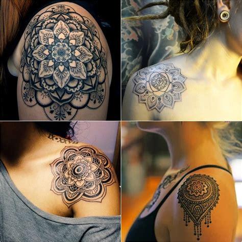 tattoo mandala que significa mandala ombro tatuagem que chic tattoos pinterest