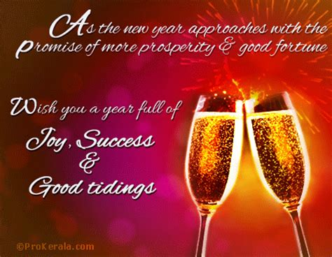 wish you a year full of joy success good tidings