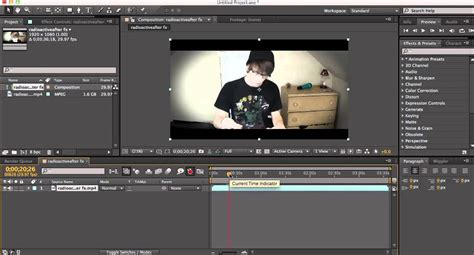tutorial after effect cs2 how to cut slice split a clip in after effects quick