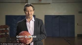 gary oldman basketball gary oldman rages in spoof psa for actors against acting