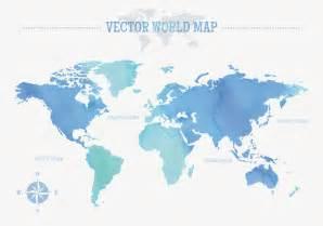 map vector free watercolor world map vector free vector