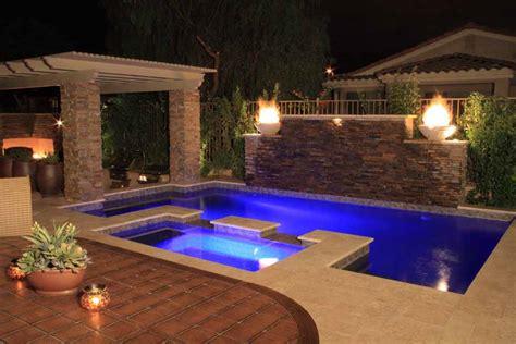 Phoenix Swimming Pool Waterfalls & Features: Arizona