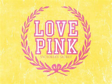 wallpaper love pink wallpapers for gt love pink wallpaper designer logos ads