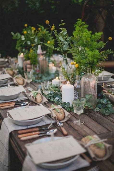 outdoor table setting 1000 ideas about elegant table settings on pinterest