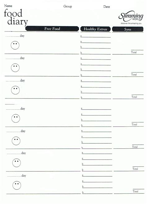 weight watchers menu planner template weight watchers menu planner template invitation