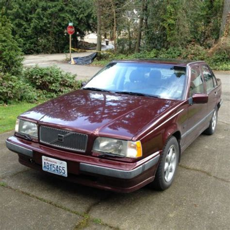 books on how cars work 1993 volvo 850 electronic valve timing sell used 1993 volvo 850 glt in bainbridge island washington united states for us 2 000 00
