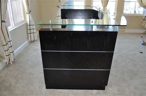 Mini Reception Desk Small Curved Reception Desk High End Reception Desk