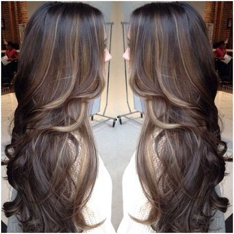 long hair styles with high and low lights how about getting some highlights in your long hair