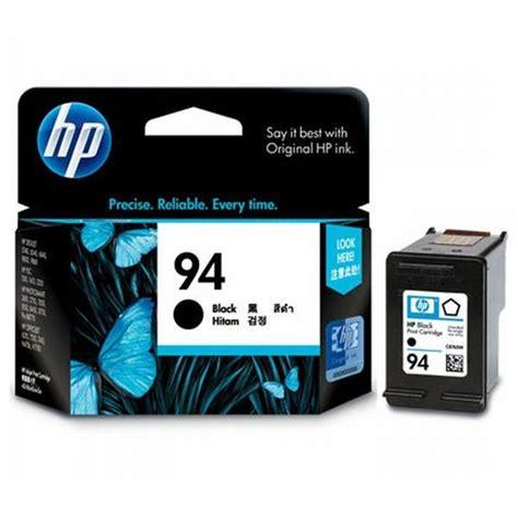 Tinta Hp 940xl Black Original Tinta Printer Hp Ori hp black ink cartridge 94 c8765wn original jual toner
