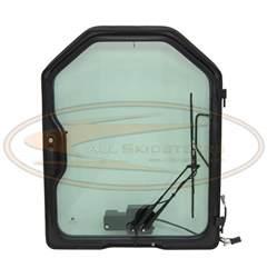 bobcat loaded door w wiper glass t110 t140 t180 t190 t200