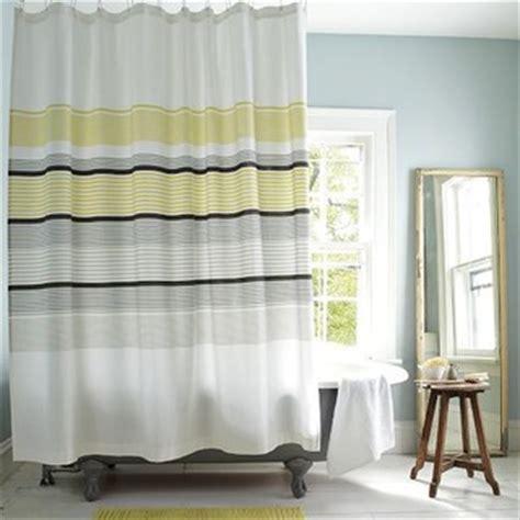 citron shower curtain gallery stripe shower curtain citron modern shower