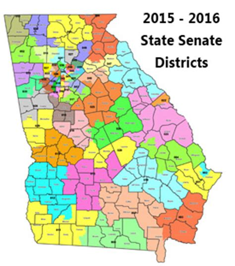georgia house districts district information