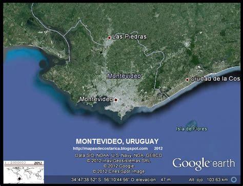 imagenes satelital del uruguay mapa del uruguay google earth